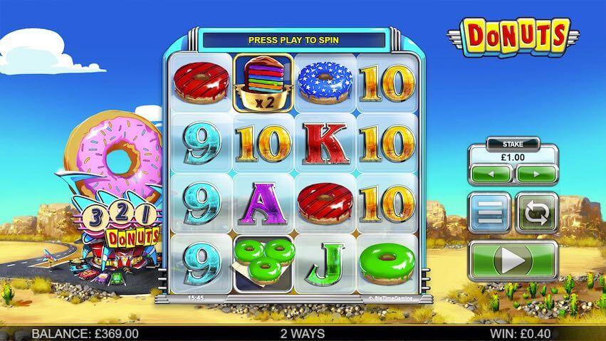 donuts nye spilleautomater på nett