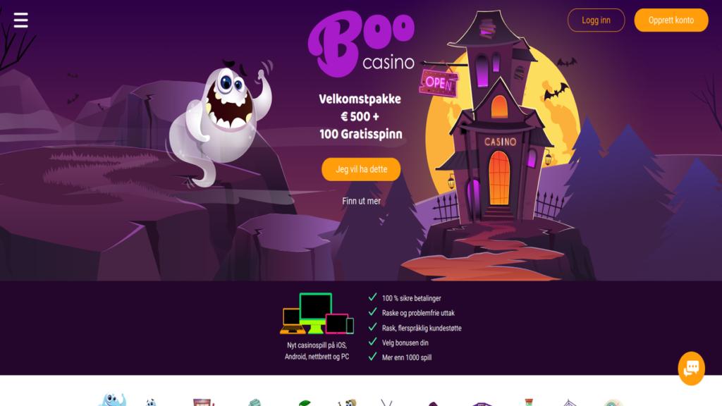BooCasino - beste nye casino i 2019